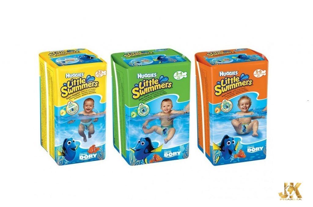 Huggies Little Swimmers за малките плувци