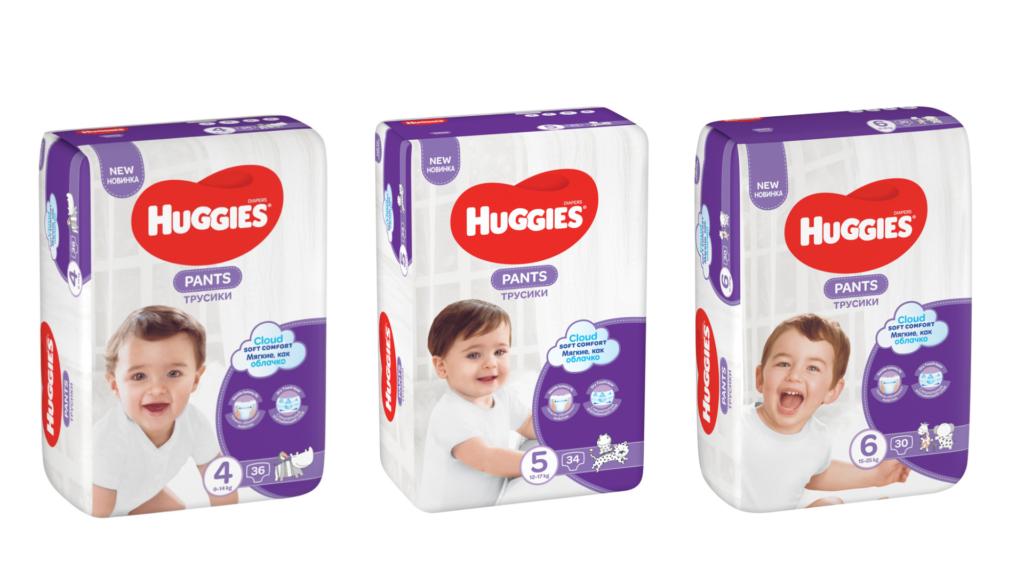 Представяме на вашето внимание новите Huggies ® Pants!